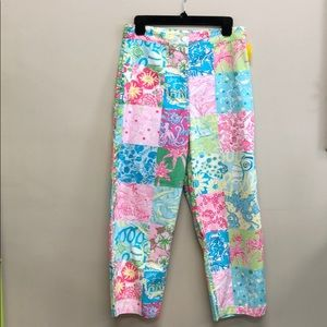 Lilly Pulitzer Capris Cropped Pants